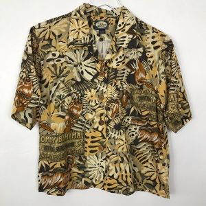 Tommy Bahama Vintage shirt button down Small